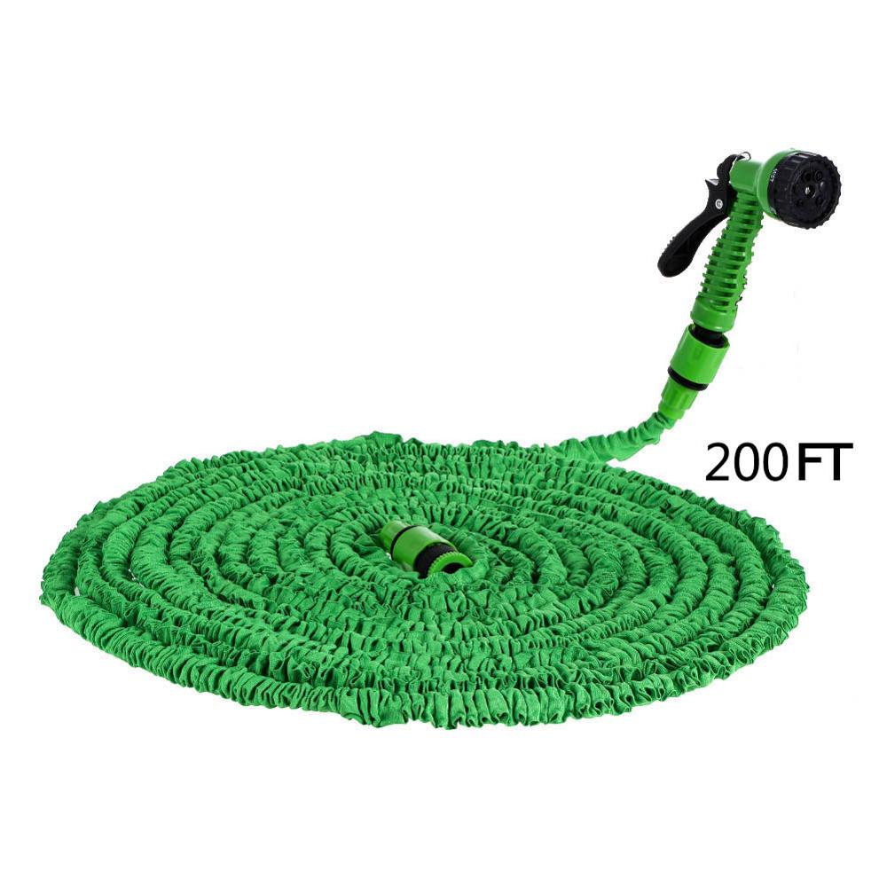 25ft-200ft Expandable Garden Hose For Watering Magic Flexible Water Hose For Car Hose Pipe With Spray Gun Car Water Pipe Plastic