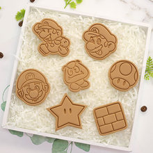 Biscuit Mold Pressing-Baking-Tool Fondant Super-Mario-Mushroom Household Cartoon Diy