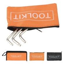 Small-Tool-Bag Organizer Toolkits Portable-Bag Canvas Multi-Function Oxford Zipper Waterproof