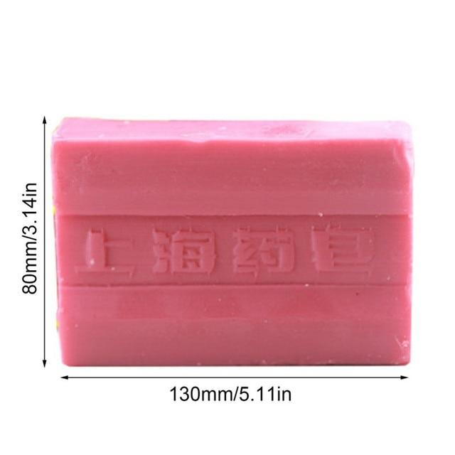 Sulphur anti-fungal dermatitis rosacea eczema psoriasis old-brand sulfur scab plant formula Shanghai tradition soap base 4