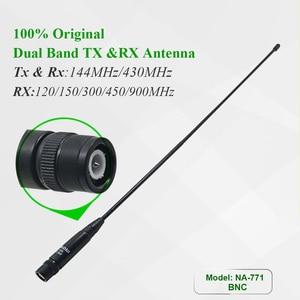 Image 2 - 100% Original Nagoya NA 771 BNC Handheld Antenna 130 / 430MHz for  IC V8 IC V82 IC V85 tk308 Two Way Radio