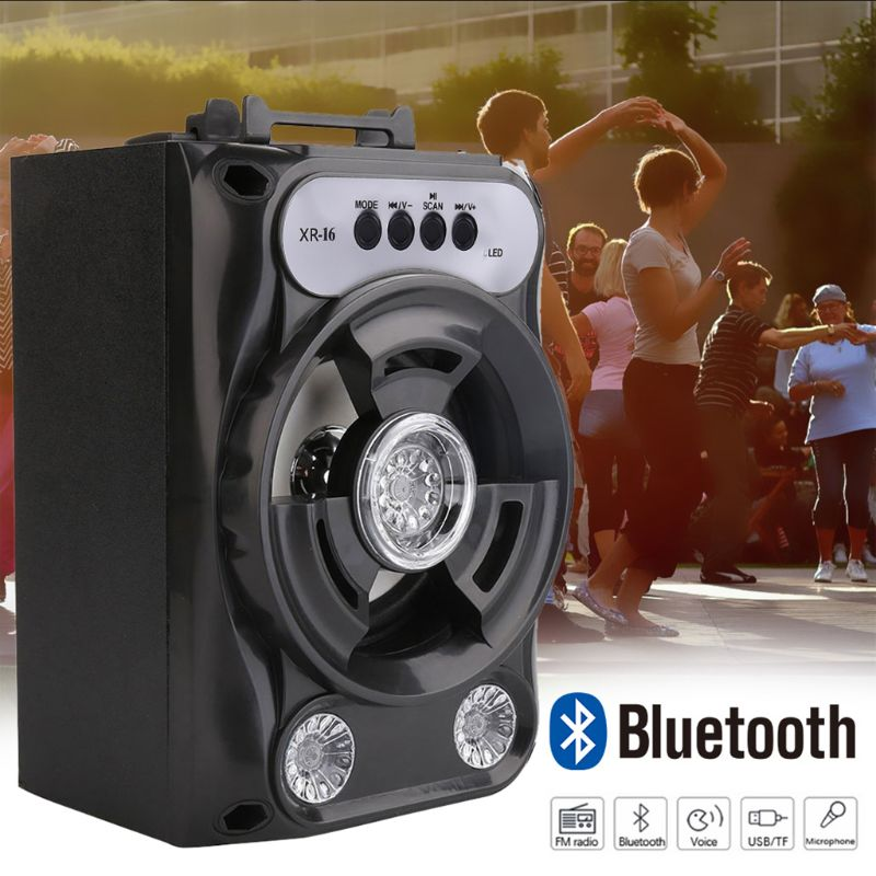 Large Size Bluetooth Speaker Wireless Sound System Bass Stereo with LED Light
