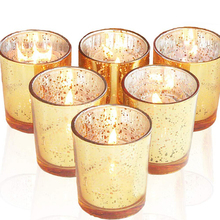12 Pcs Votive Candle Holder Romantic  Mercury Glass Tealight  Candlelight Dinner Wedding Party Candle Lamp Home Decoration цена