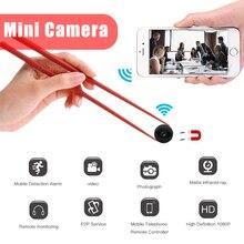 HD 1080P Мини Wi-Fi камера видео рекордер инфракрасного ночного видения скрытый камкордер Магнитный Корпус Gizli Kamera няня пульт дистанционного управления Micro Cam