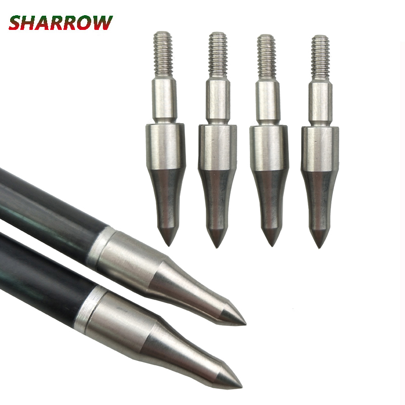 12pcs Archery 125 Grain Target Broadhead Arrow Field Arrow Tips Point Hunting Shooting Practice Accessories