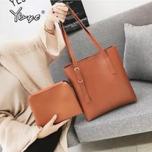 YBYT new fashion women composite bag large capacity tote bag luxury handbags women bags designer girls Laptop handbags shoulder цена и фото