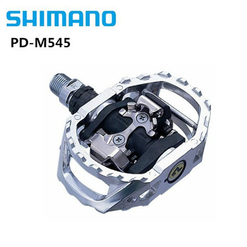 """Shimano Bicycle SPD PD-M545 MTB Off-Road Sport Clipless Pedals 9/16"""" SM-SH51 Cleats Bike Parts With Original Shimano Box"""