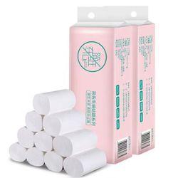 12 rollen Von Wc Papier Raw Holz Zellstoff Wc Papier Nützlich Wc Papier Hause Bad Einweg Papier Towal Hause Sauber liefert