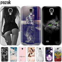 Silicone Soft Case For Samsung Galaxy S4 i9500 Cases soft TPU Cover For Samsung S4 Phone shell full 360 Protective For S 4