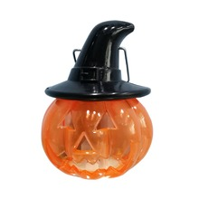 Portable LED Pumpkin Lantern Colorful Light Changing Night Table Lamp For Halloween Holiday Party Decor H