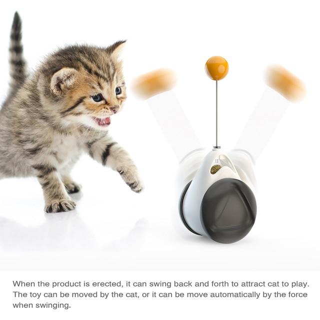 Kitten Catnip Tumbler Cat Toy 4