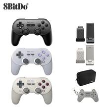 8Bitdo SN30 PRO + Wireless Joystickบลูทูธรีโมทเกมคอนโทรลเลอร์GamepadสำหรับWindows/Android/MacOS/Nintendoสวิทช์