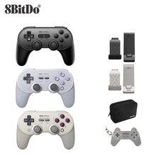 8bitdo SN30 PRO + Joystick bezprzewodowy Bluetooth pilot zdalnego sterowania kontroler go gier Gamepad dla systemu Windows/Android/macOS/Nintendo przełącznik