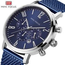 Watches Men Luxury Brand Stainless-Steel Mini Focus Waterproof Fashion Relogio Montre