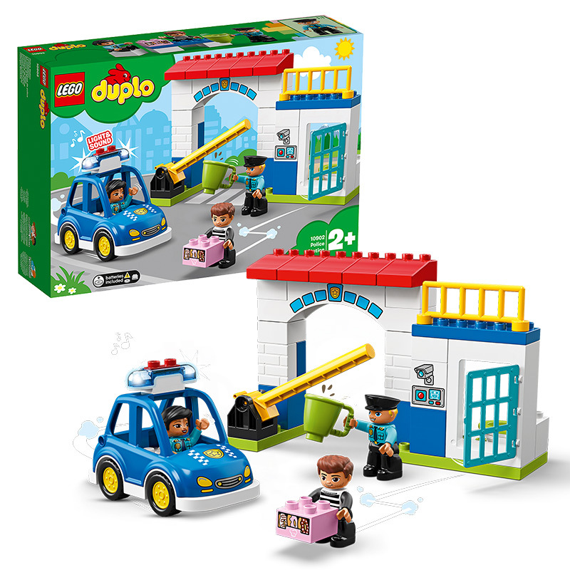 LEGO Duplo Series Police Station 10902 Lego Toy Building Blocks