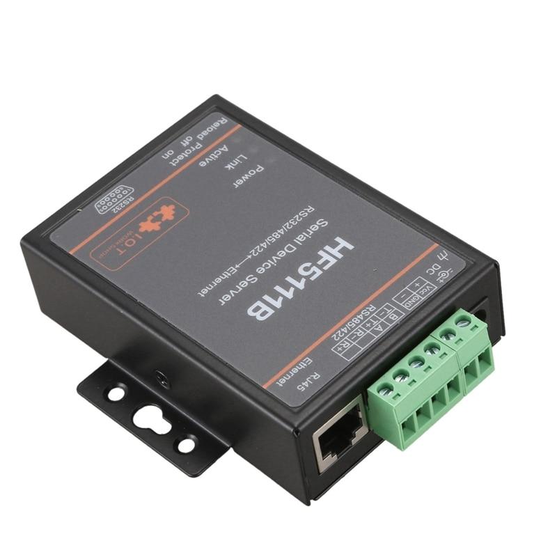 HF5111B сервер последовательных устройств RS232/RS485/RS422 серия в Ethernet бесплатно RTOS Серийный Сервер F22498 (штепсельная Вилка европейского стандарта)