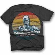 Terminator Horror Freitag 13 De Texas Kettensage T camisa japanische chinesische cartel Sci Fi película Retro Vintage 3
