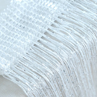 Permalink to Window Glitter String Curtain Panel Fly Screen & Room Divider Voile Net Curtains