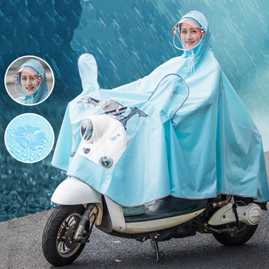 Motorcycle Raincoat Waterproof Cover Rain Coat Cape Suit Gear Poncho Women Outdoor Chuvasquero Mujer Poncho Feminino B50