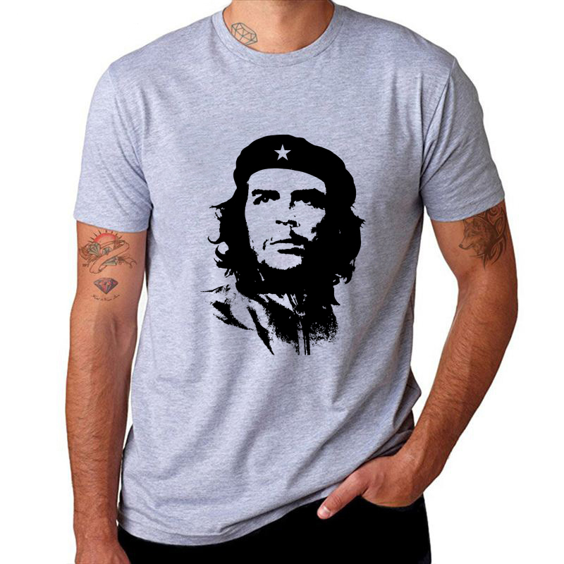 Velocitee Mens Che Guevara Zombie T Shirt Pop Art Revolution Cuba W12694