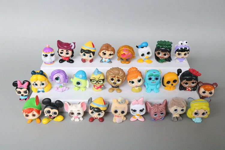 Ten Original Dolls Not Sent Repeatedly Princess Ariel Twisted Cinderella Forzen Elsa Olaf Stitch Monster Inc. Doorables