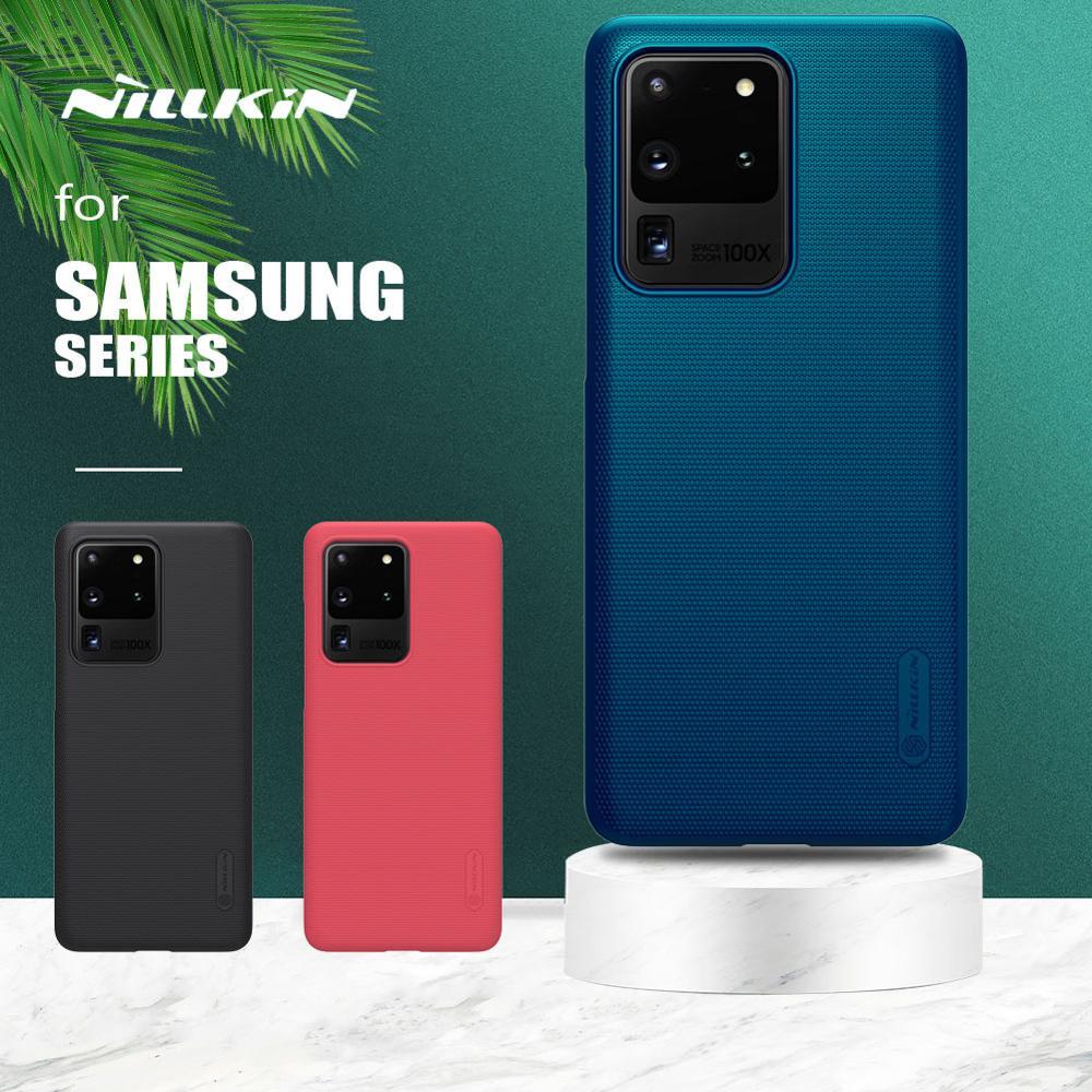 Pour Samsung Galaxy S20 Note 10 9 8 Plus Étui Nillkin Givré Couverture De Bouclier pour Samsung S20 Ultra S10 Lite S9 S8 Plus S7 Bord S10E