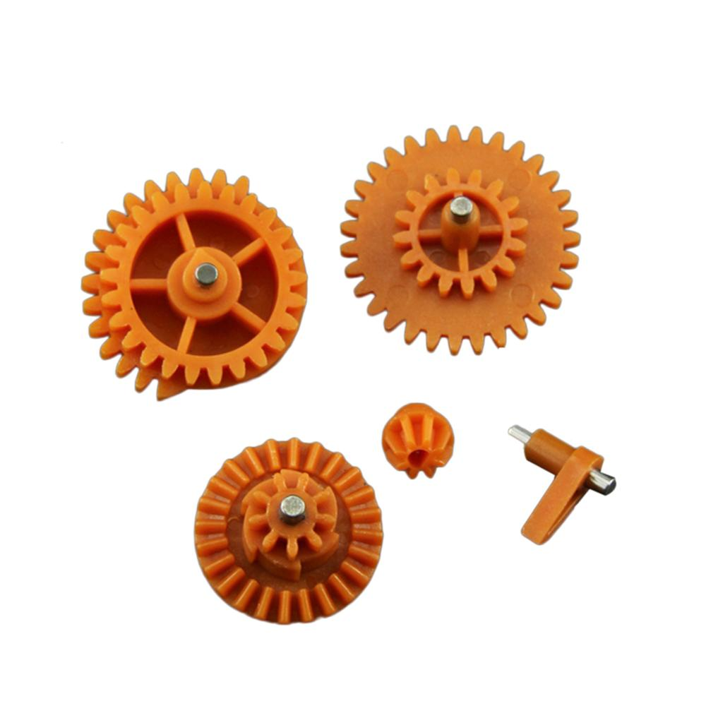 MODIKER 12:1 / 16:1 High Speed Nylon Gear Set For JM Gen.8 9 10 / Jingji SLR Water Gel Beads Blaster - Orange
