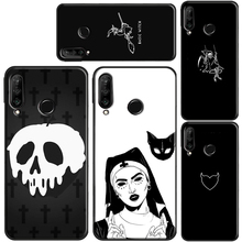 Gothic Witch Satan TPU Case For Huawei