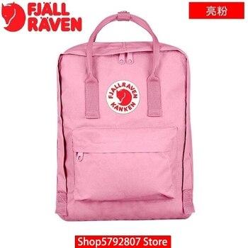 A0001 Hot Fjallraven- Mochila Kankenlying Children Mini Men Women Waterproof Backpack for Student School Bag Classic Daypack