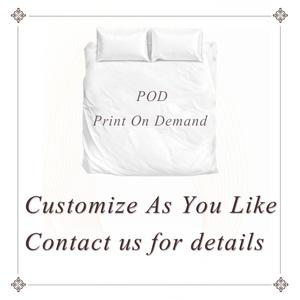 Image 5 - Mandala tarafından Brizbazaar nevresim takımı siyah beyaz çiçek nevresim gizemli evren yatak takımı Vintage taş Bohemia yatak örtüsü