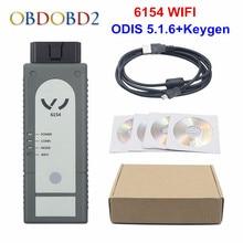 Najlepszy 6154 ODIS V6.1.3 OKI pełny Chip 6154 WIFI i Bluetooth dla Audi/Skoda lepiej niż 5054 wsparcie UDS dla VAG
