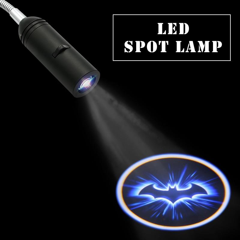 110V 20V E27 Holder Special Logo Lamp Projector Led Spot Light Xmas VIP Projector Light Customize Logo Dversting Display Lamp