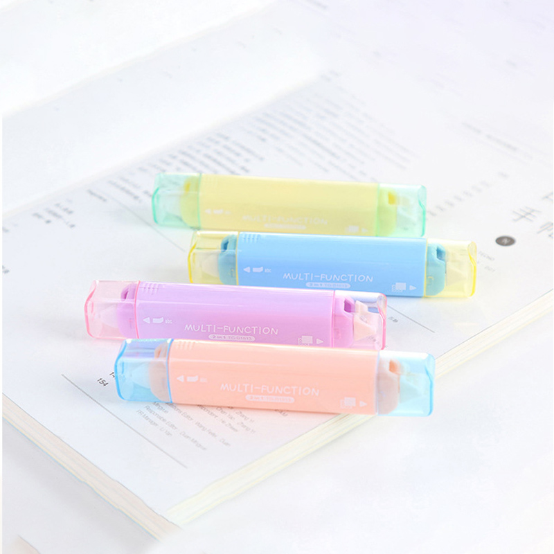 Cute Dot Shape Correction Tape Kawaii Multifunction Double-sided Tape For Kids School Scrapbooking Diary Gifts Stationery