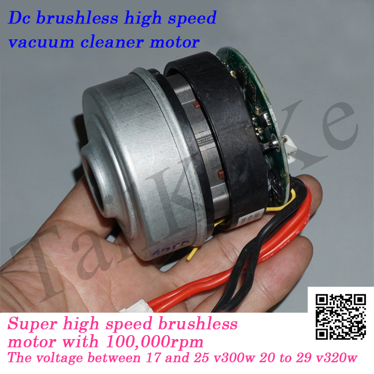 18-24V High Power Three-phase Brushless Fan 100,000 Rpm High Speed Vacuum Cleaner Motor DIY