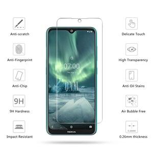 Image 4 - Vidro temperado Para NOKIA 7.2 6.2 4.2 3 V 3.1 C 3.1 A 2.2 3.2 4.2 Protetor De Tela 9H vidro temperado Para Nokia 1 Plus X71 Filme *