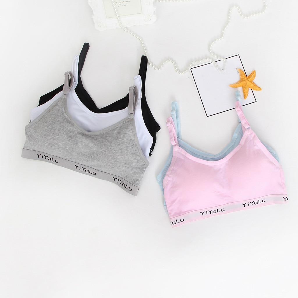 Kids Underclothes Girls Clothes Underwear Bra Vest Thin Belt Letter Undies Gifts For Kid Produits Pour Enfants Детские товары#2