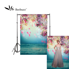 Beebuzz photo backdrop the coloured petals fall down background romantic fantasy flower pattern photophone
