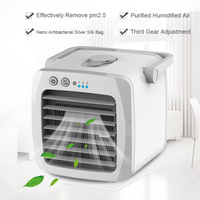Mini Portable Air Conditioner Fan Desk Usb Air Conditioning  Air Fan Cooler Arctic Cooling Humidifier Purifier For Home Office|Fans| |  -