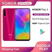 Original Honor Play 3 64GB 128GB Kirin 710 F Octa Core Smartphone 48MP AI Triple Cameras 6.39