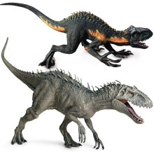 Dinosaur Jurassic Indominus Velociraptor Raptor Action Figures Savage Tyrannosaurus World Animals Model For Kids Boys Toys Gift
