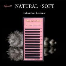 Mink-Eye Lashe Eyelash-Extension Mix-Tray Silk Single .05 .03 .10 8-15mm HPNESS U-Dd