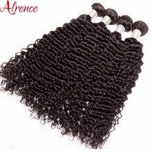28-30inch Deep-Wave-Bundles Hair Weave Human-Hair-Extensions Brazilian Remy Natural-Color