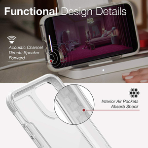 Image 3 - Защитный прозрачный чехол X Doria для телефона iPhone 11 Pro Max, чехол в стиле милитари для iPhone 12Pro, защитный петух