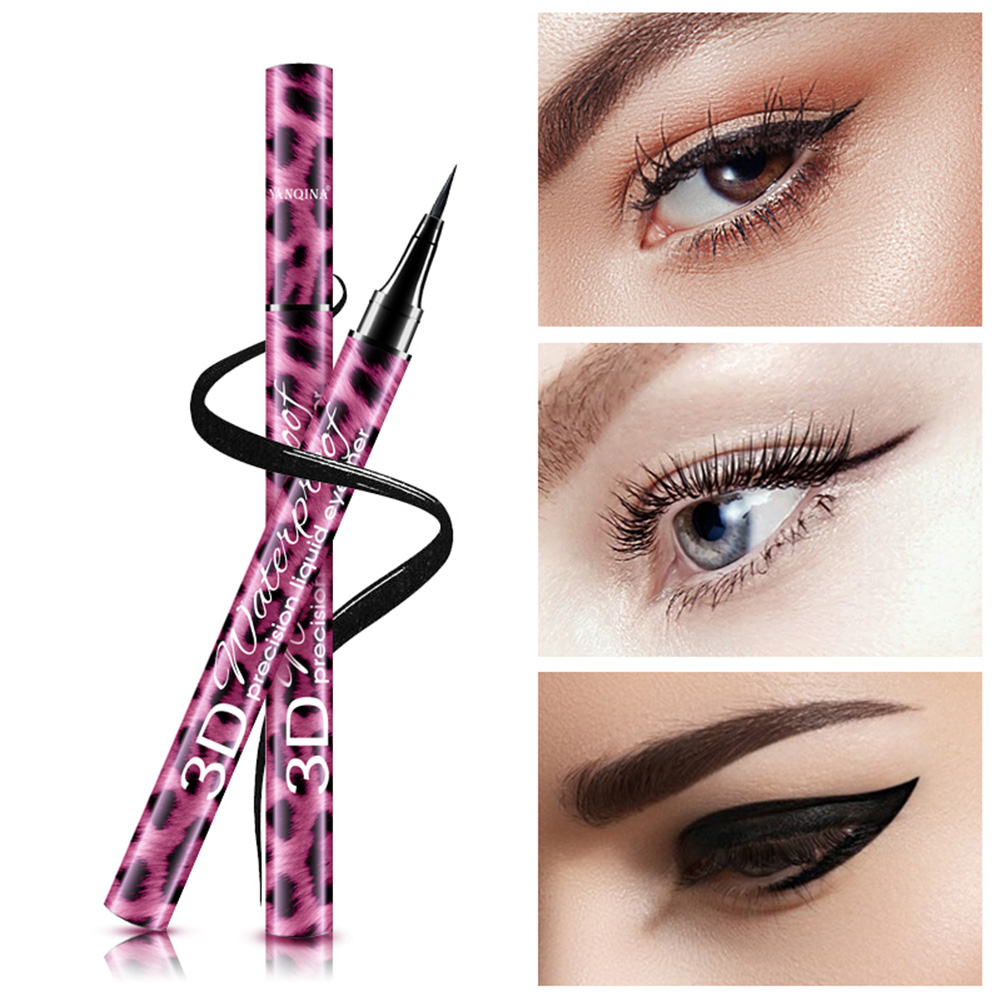 1Pc 24H Eye Liner Pencil Red Waterproof Smudge-proof Long Lasting Pro Beauty Makeup Liquid Eyeliner Pencil Smooth Make Up Tools