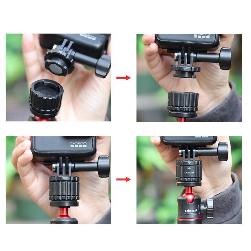 VIJIM GP-2 für Gopro 8 Aktion Sports Kamera ZubehöR Kamera Schnell Wechsel  I3V2