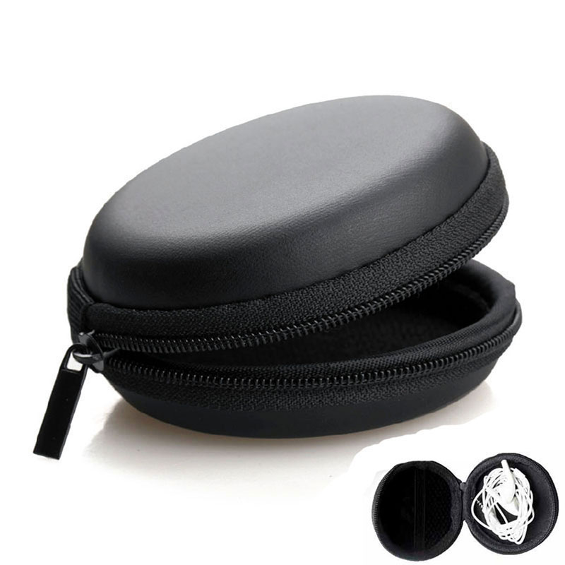 Earphone Holder Case Storage Carrying Hard Bag Box Case For Earphone Headphone Accessories Earbuds memory Card USB Cable