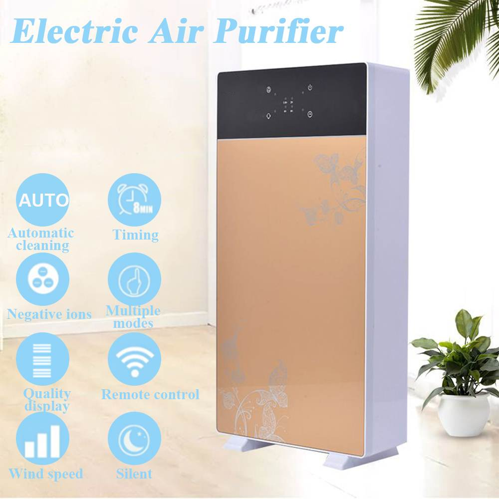 Air Purifier Sterilizer Addition To Formaldehyde Wash Cleaning Intelligent Household Hepa Filter Smart PM2.5 Smoke Purifier 220V