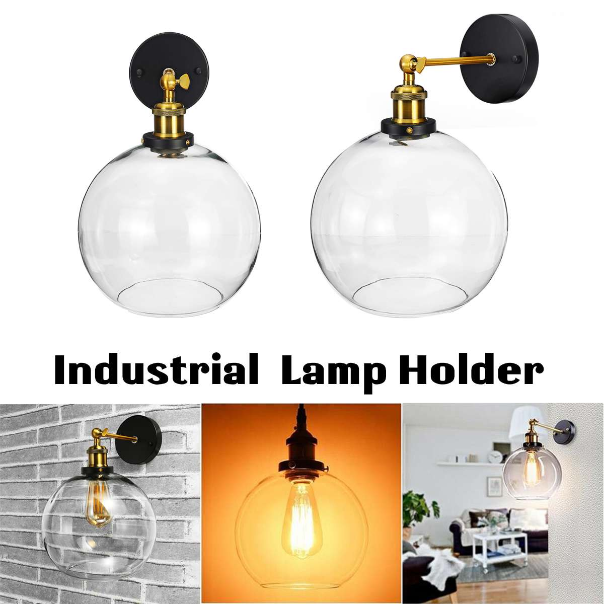 Holder, Lamps, Decorative, Antique, Metal, Style