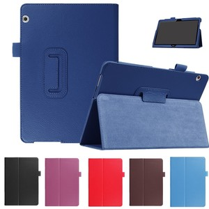 """Smart Case For Huawei MediaPad T3 10 9.6""""AGS-L09 W09 Tablet cover Flip Stand pu Leather for Honor Play Pad 2 9.6 Protector cover(China)"""