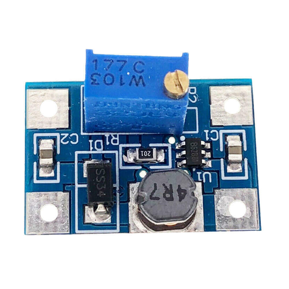 2-24V to 2-28V Large current 2A DC-DC LC SX1308 Step-UP Adjustable Power Module Step Up Boost Converter for DIY Kit